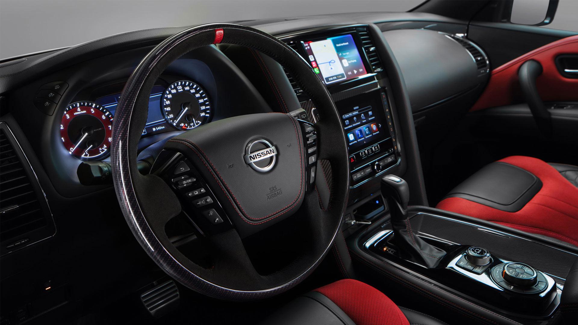 The Nissan Patrol Nismo Steering Wheel