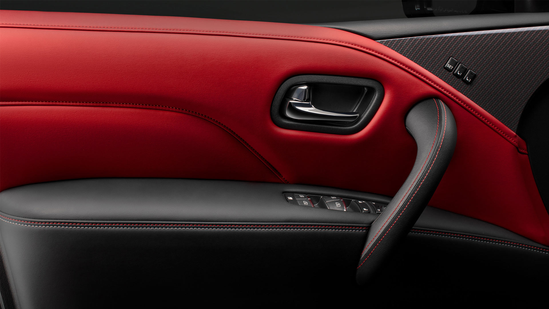 The Nissan Patrol Nismo Door Controls