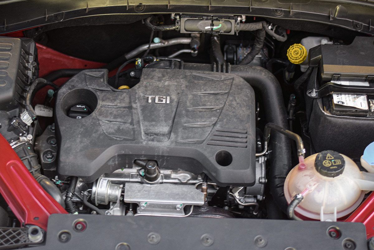 The MG RX5 Engine