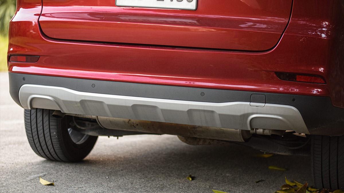 The MG RX5 Rear Bumper