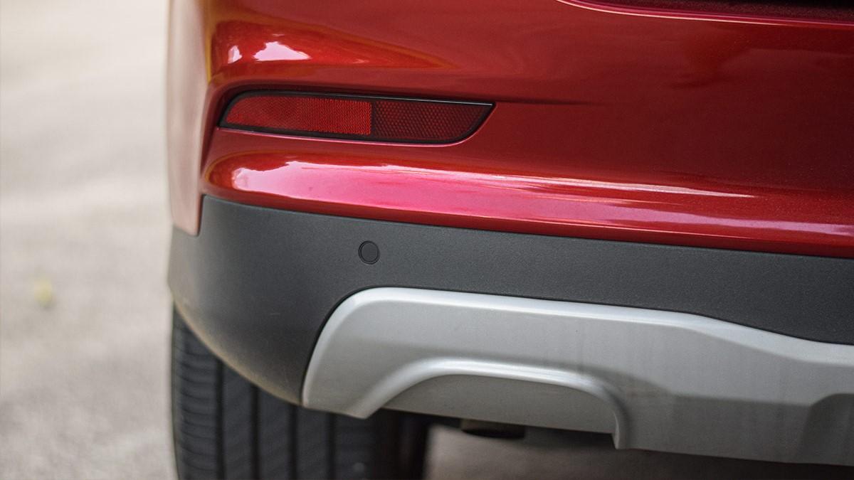 The MG RX5 Rear Sensors