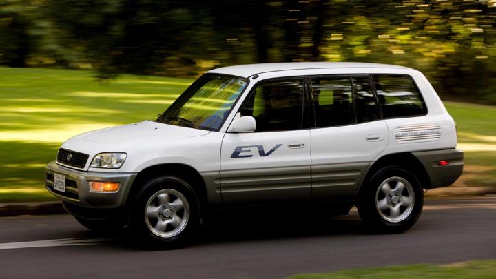 The 90s Electric RAV4