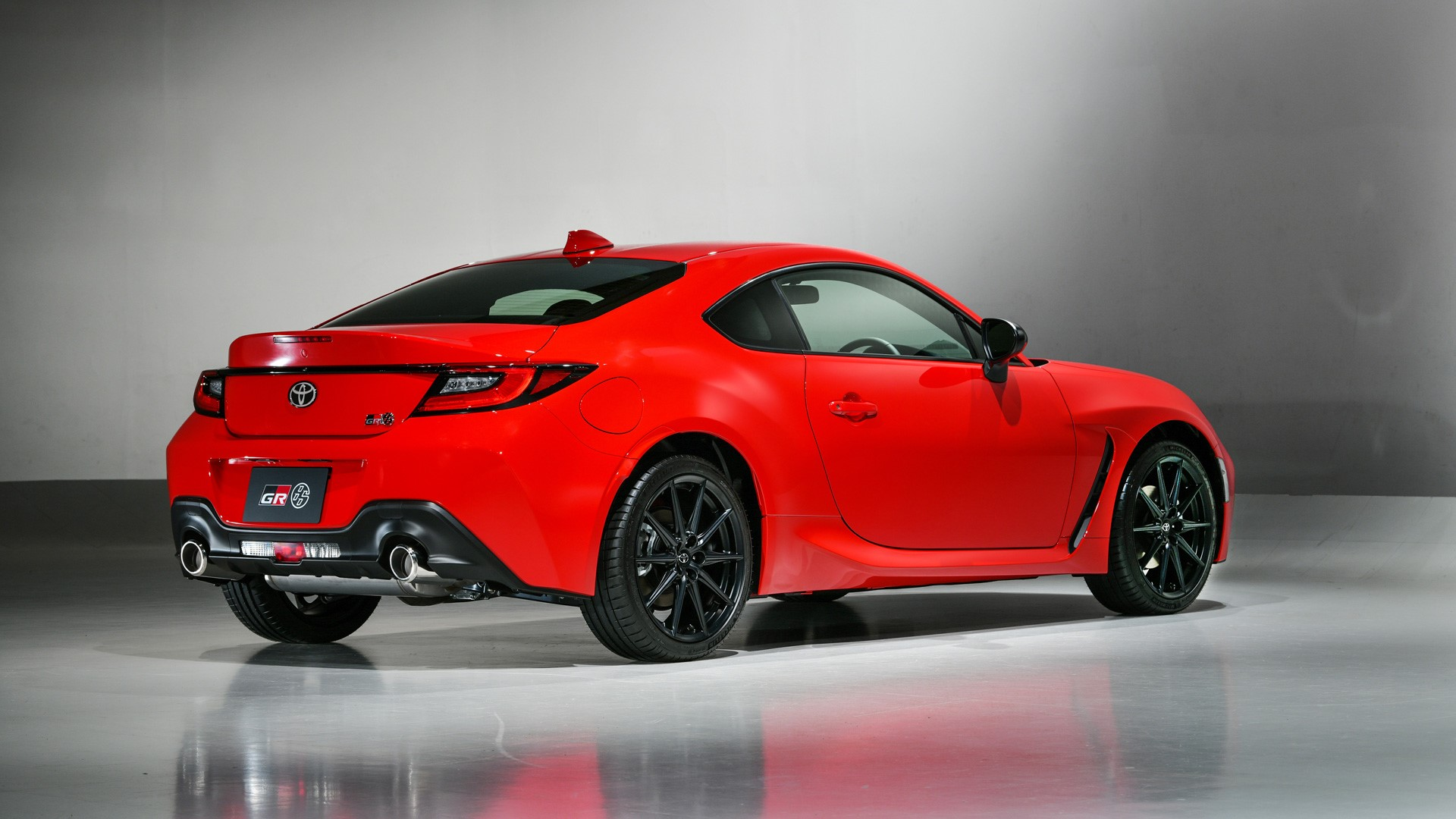 The Toyota 86 Angled Rear View