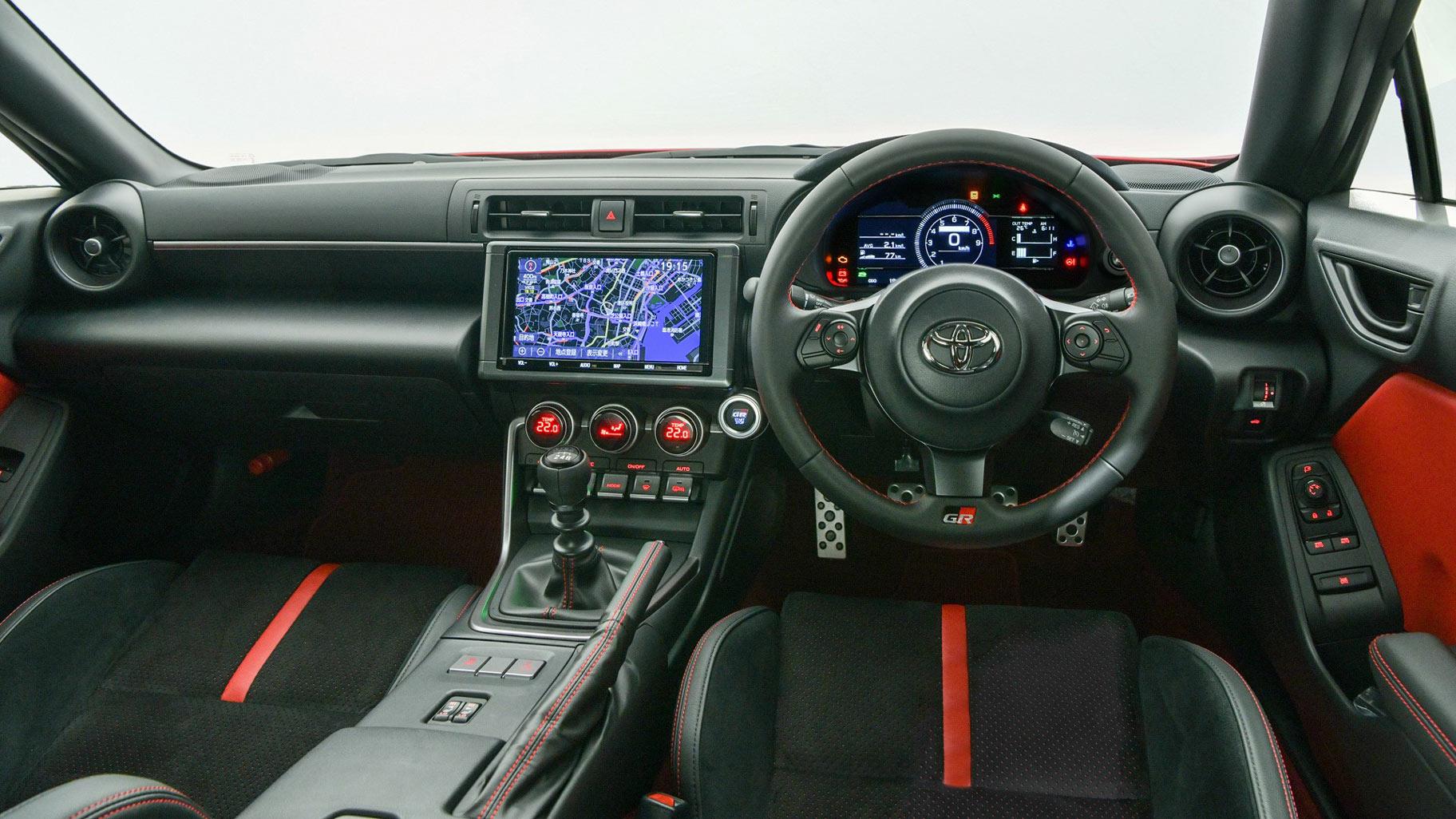 The Toyota 86 Dashboard