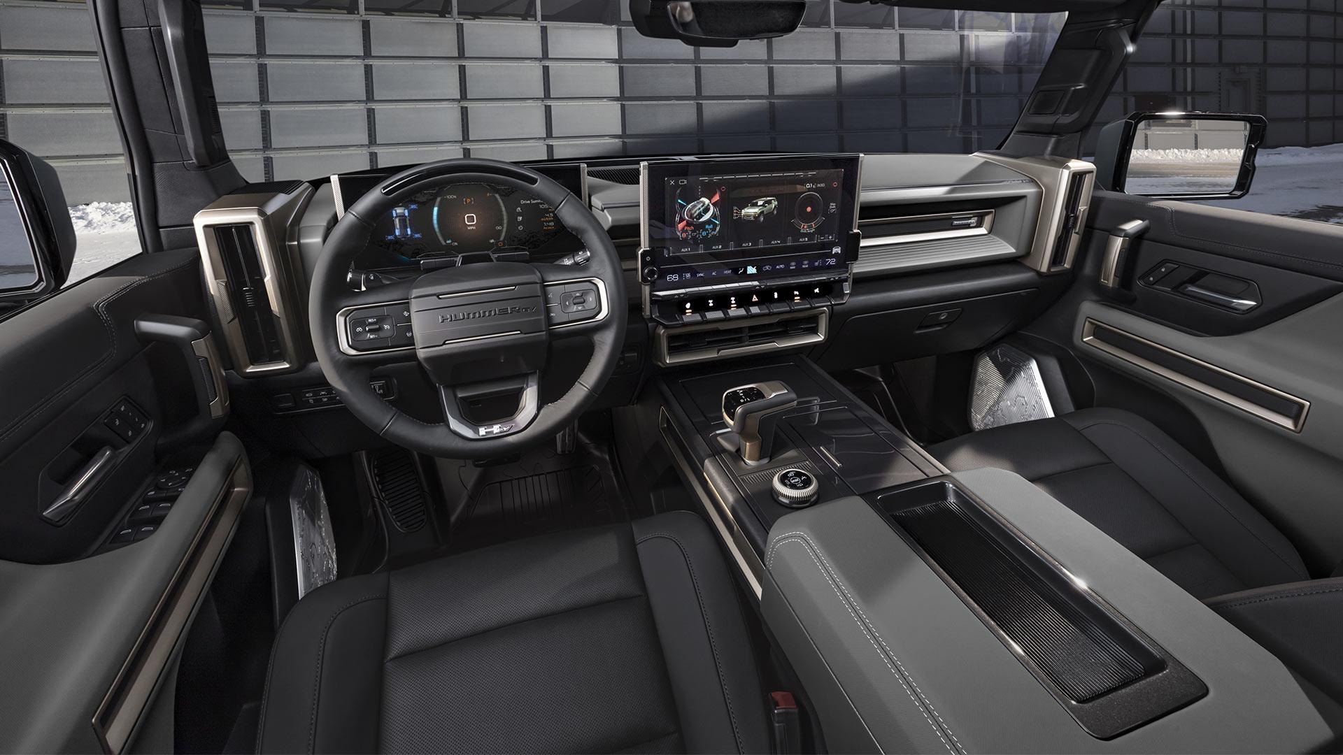GMC Hummer EV Dashboard