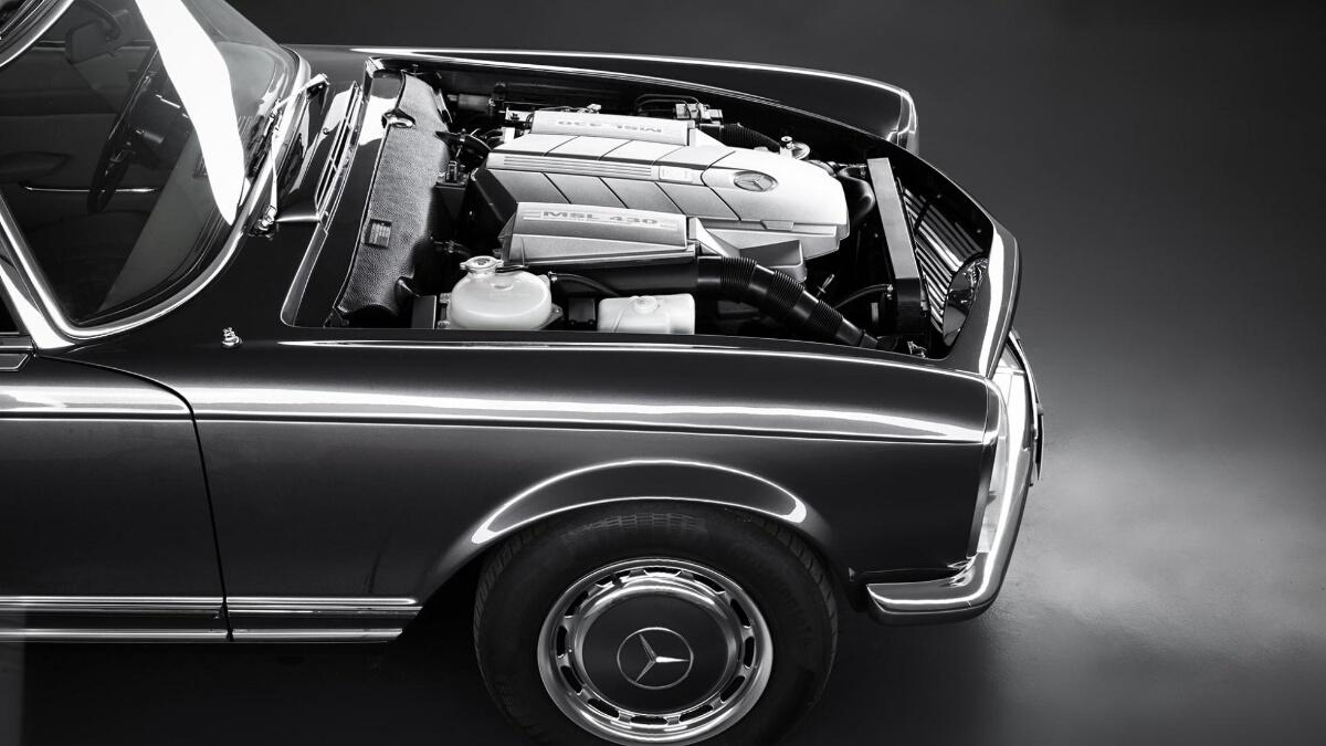 The Mercedes-Benz SL Engine