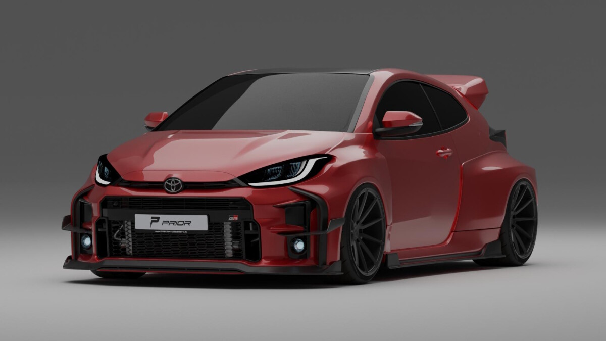 The Prior Design for the Toyota GR Yaris