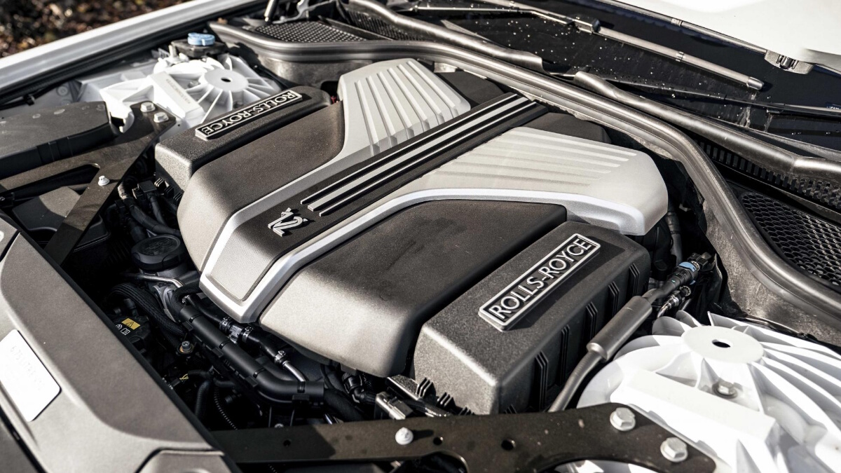 The Rolls-Royce Ghost Engine