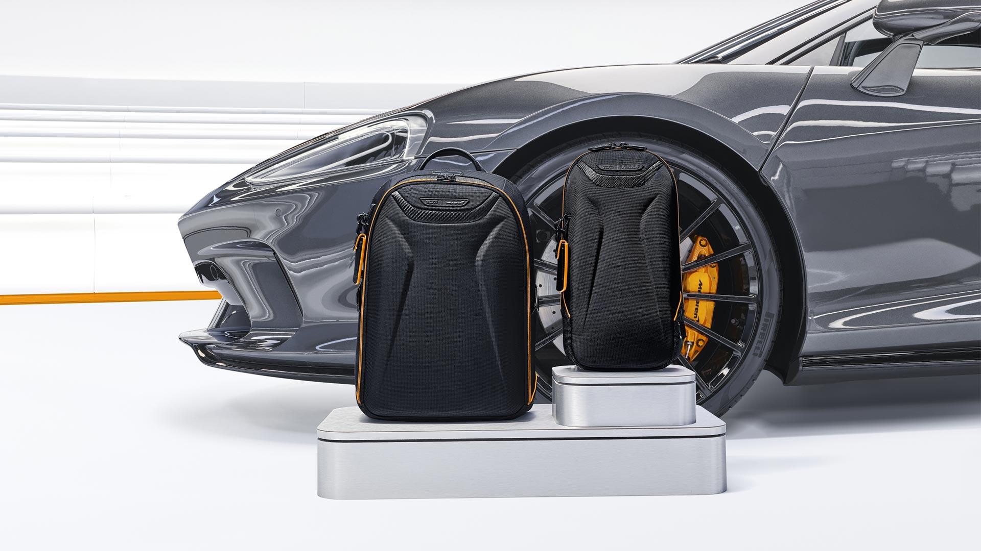 Tumi's McLaren Inspired Capsule Luggage