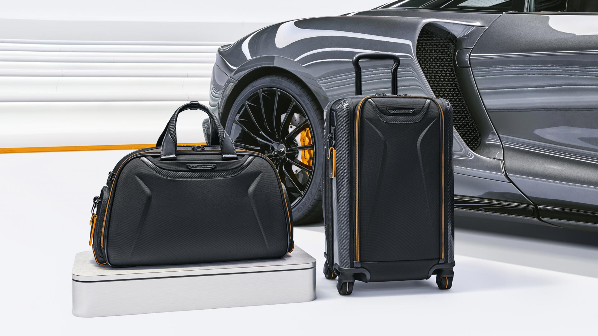 Tumi's McLaren Inspired Capsule Luggage - Travel Luggages