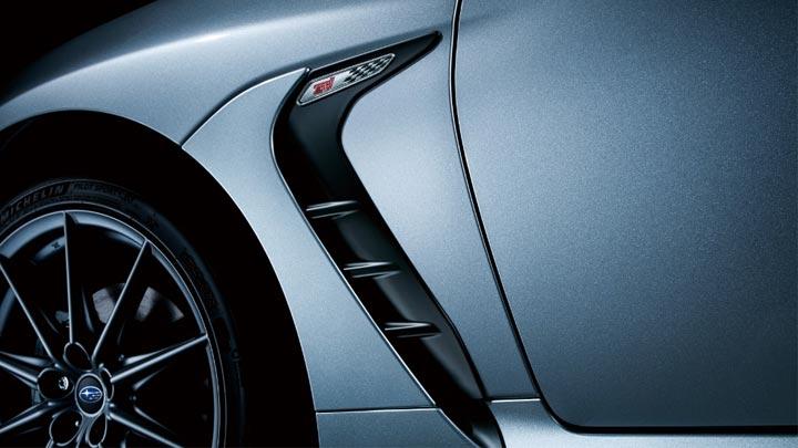 The Subaru BRZ Vents