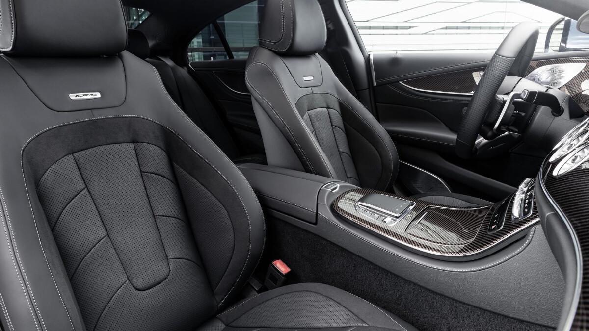 The 2022 Mercedes-Benz CLS Front Passenger Seats