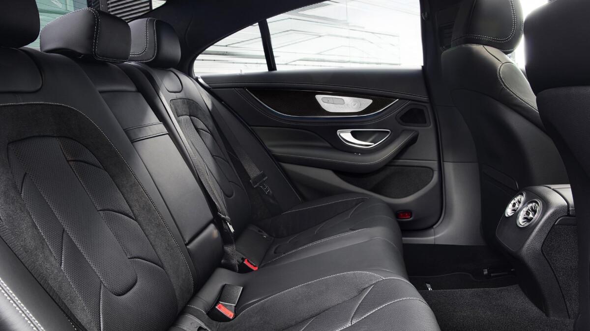 The 2022 Mercedes-Benz CLS Rear Passenger Seats