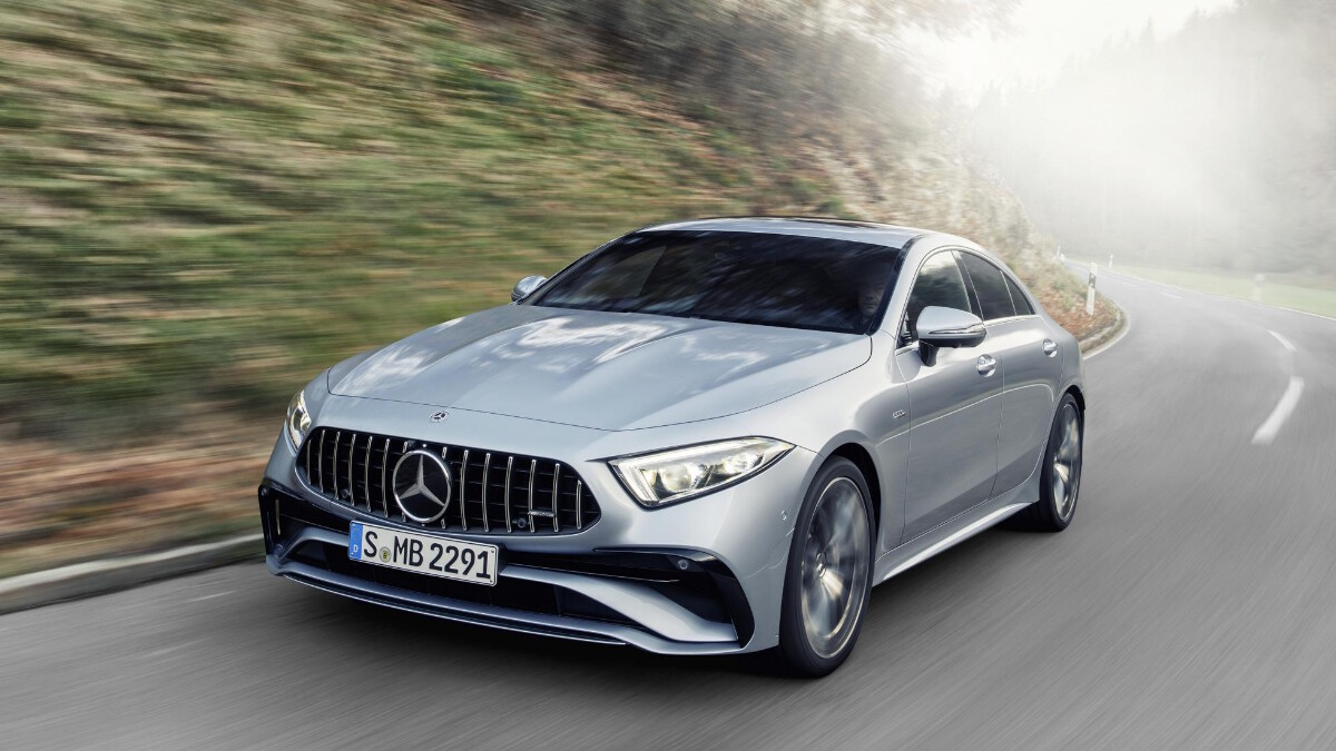 The 2022 Mercedes-Benz CLS on the Road