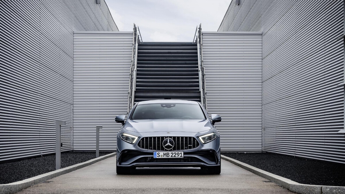 The 2022 Mercedes-Benz CLS Front View