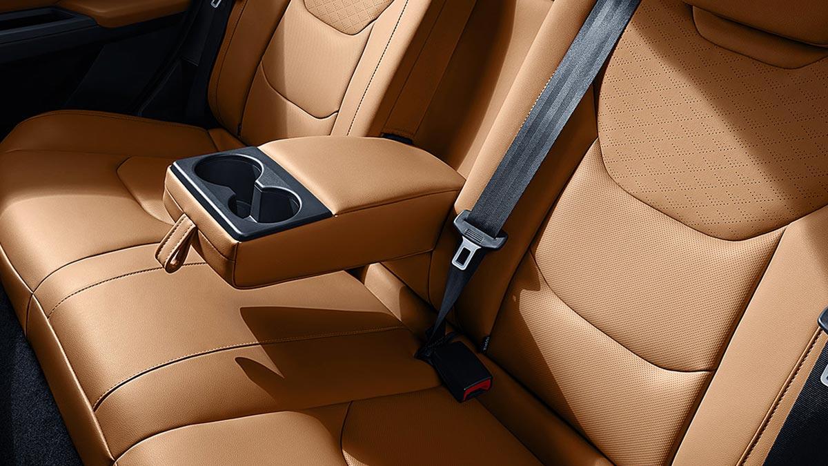 The Ford Escort Rear Passenger Seats