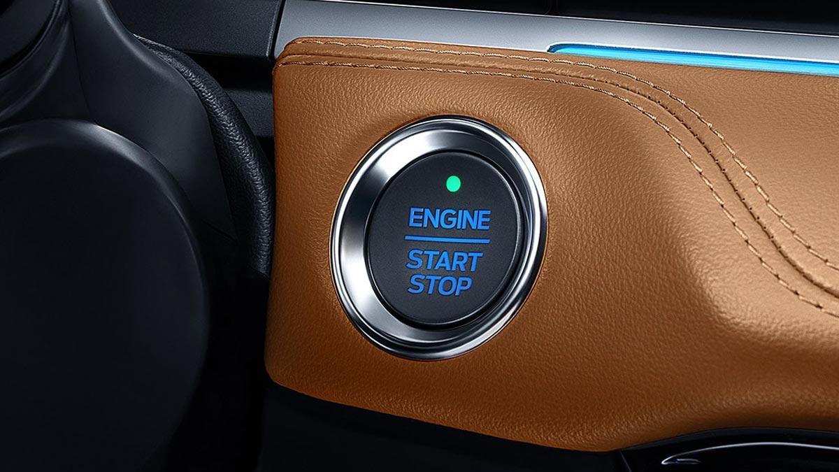 The Ford Escort Start Engine Button