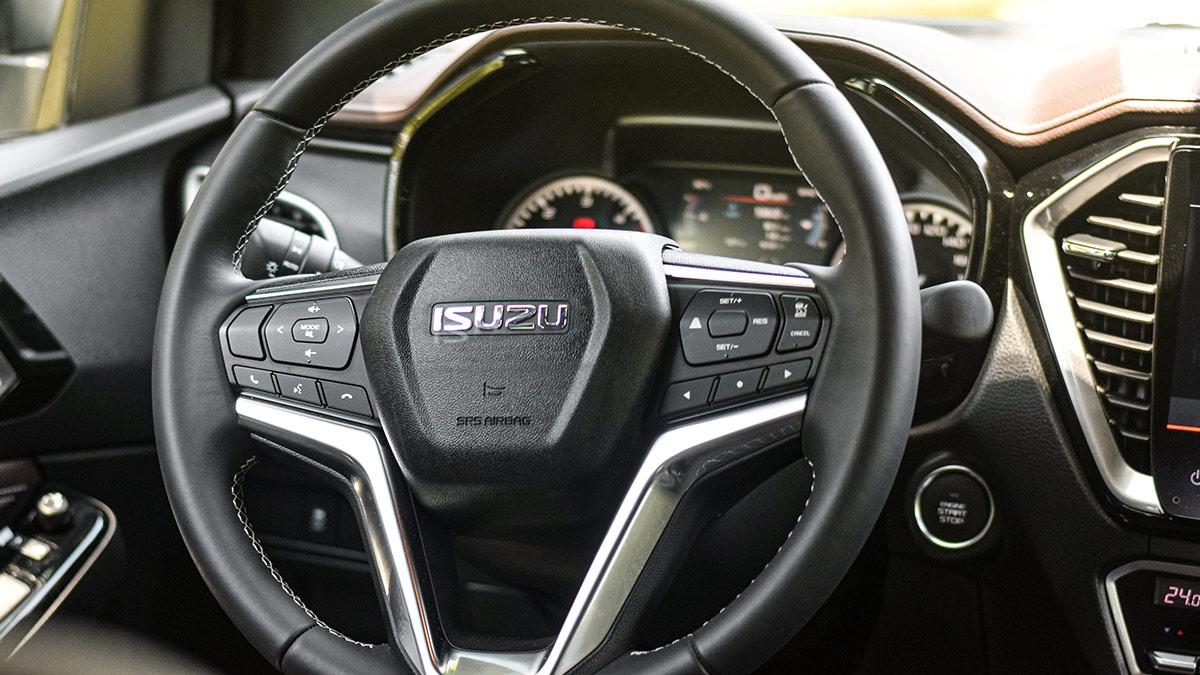The 2021 Isuzu D-Max Steering Wheel