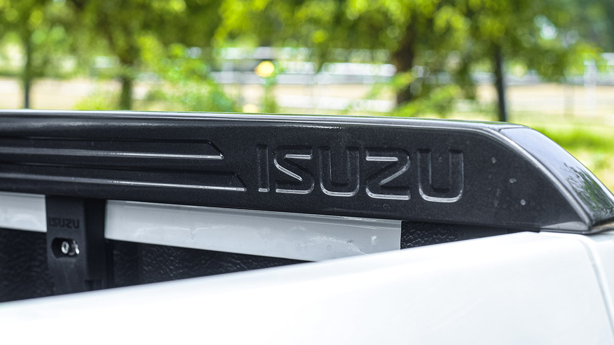 The 2021 Isuzu D-Max Emblem