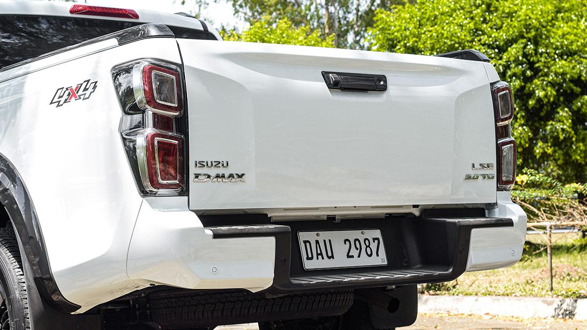 The 2021 Isuzu D-Max Rear Close Up