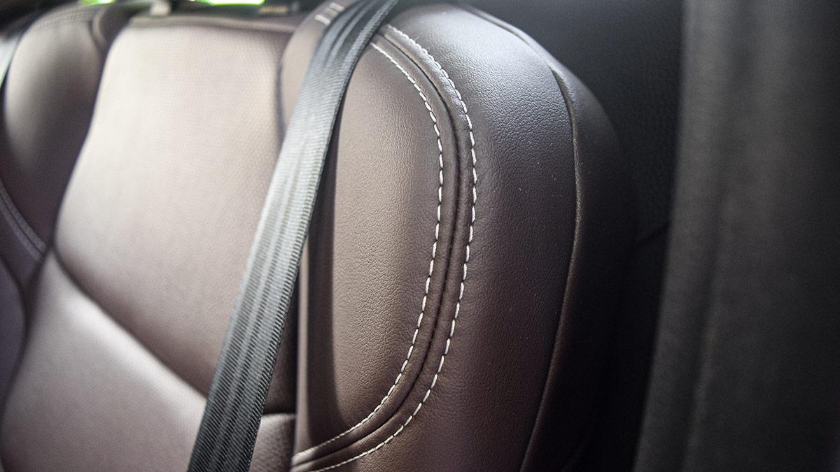 The 2021 Isuzu D-Max Seat Detail