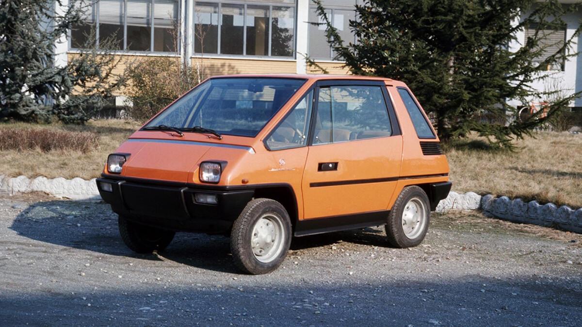 Fiat 126 Vettura Urbana Concept Angled Front View