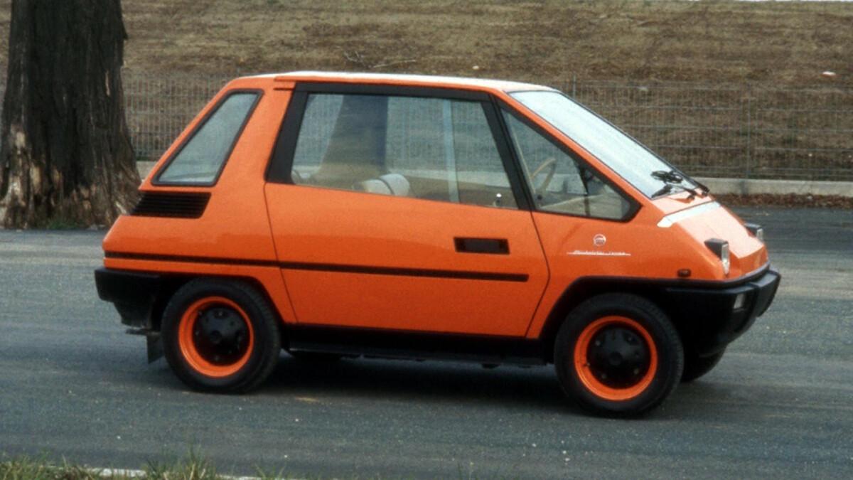 The Fiat 126 Vettura Urbana Concept