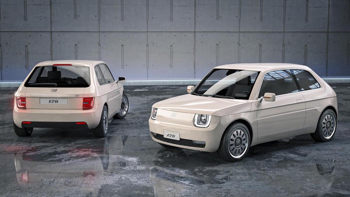 Fiat 126 Vettura Urbana Concept Reboot