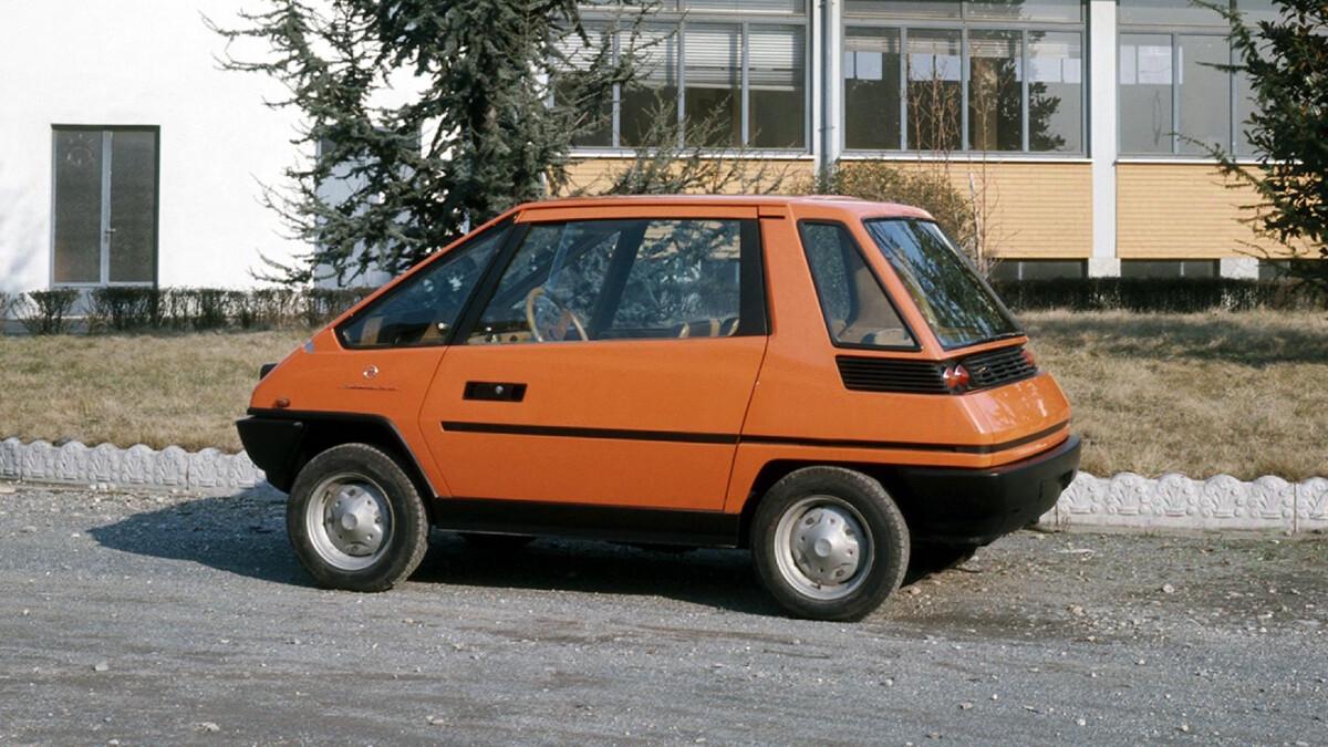 Fiat 126 Vettura Urbana Concept Profile