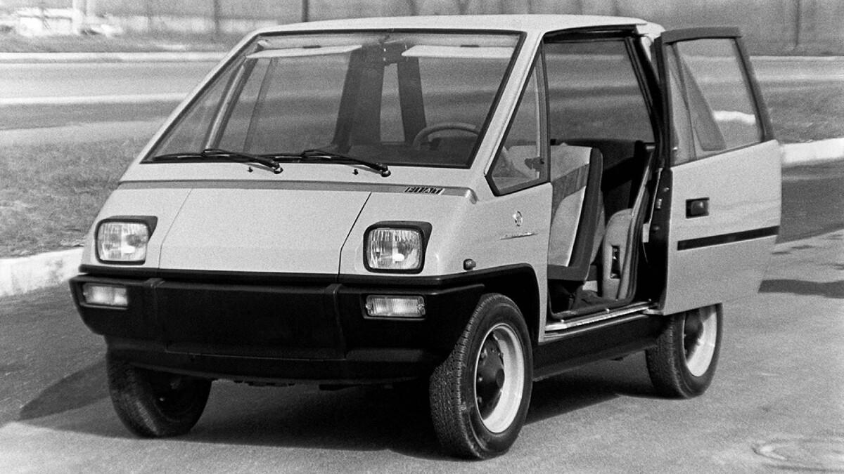 Fiat 126 Vettura Urbana Concept Driver Side Door Open