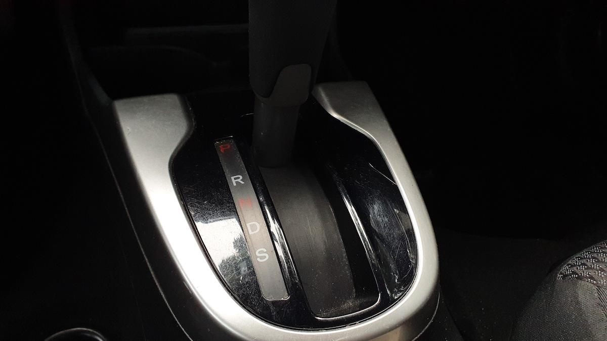 The Honda Jazz Gear Stick