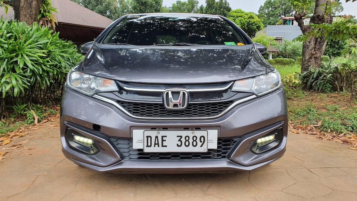 The Honda Jazz Front View