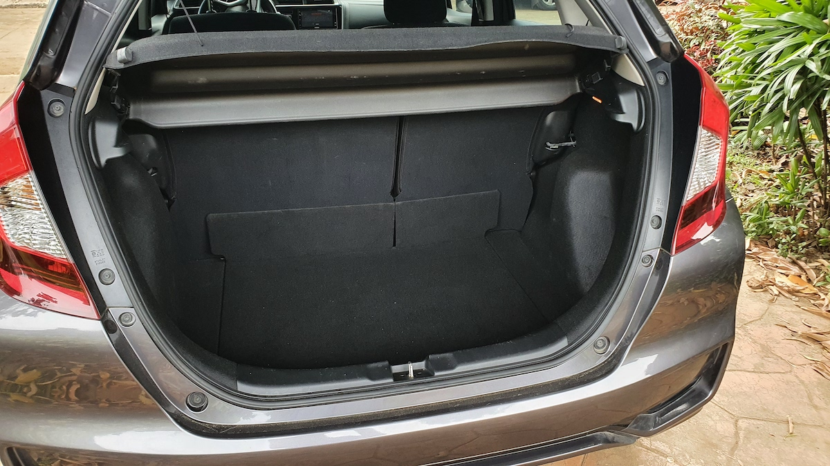 The Honda Jazz Trunk