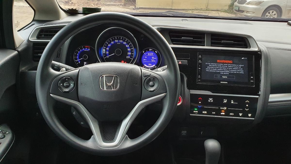 The Honda Jazz Steering Wheel