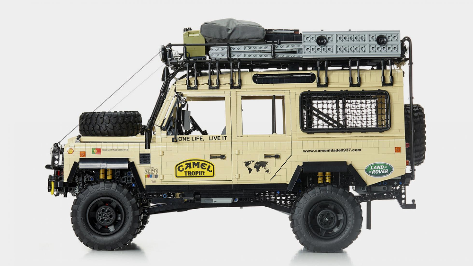 The Camel Trophy Land Rover Profile