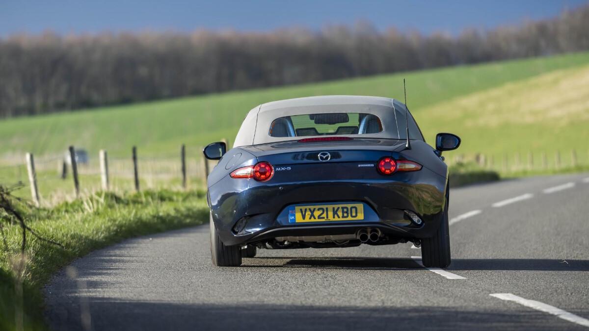 The Mazda MX-5 Sport Venture Edition Rear View