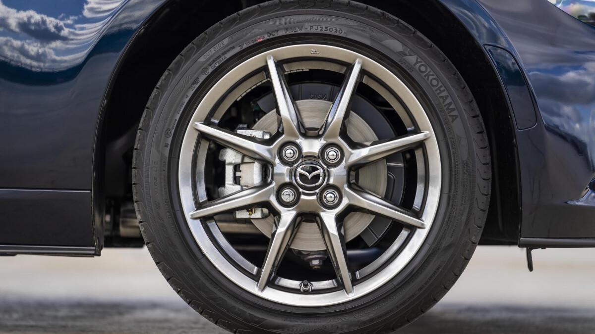 The Mazda MX-5 Sport Venture Edition Front Tire