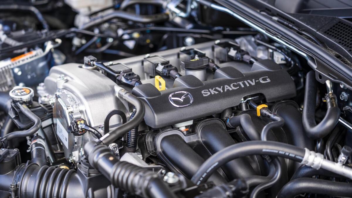 The Mazda MX-5 Sport Venture Edition Engine