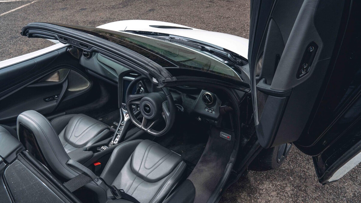 The McLaren 720S Dashboard and Interior
