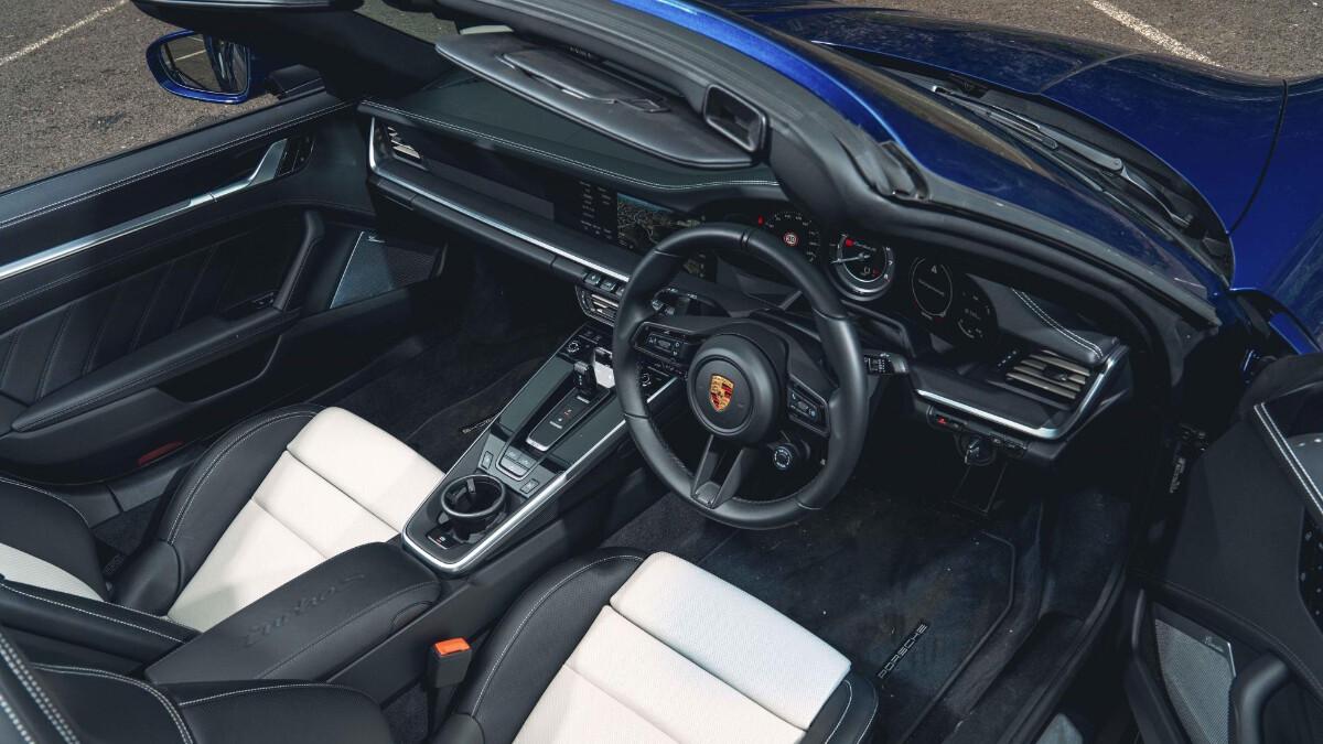 The Porsche 911 Turbo Dashboard and Interior