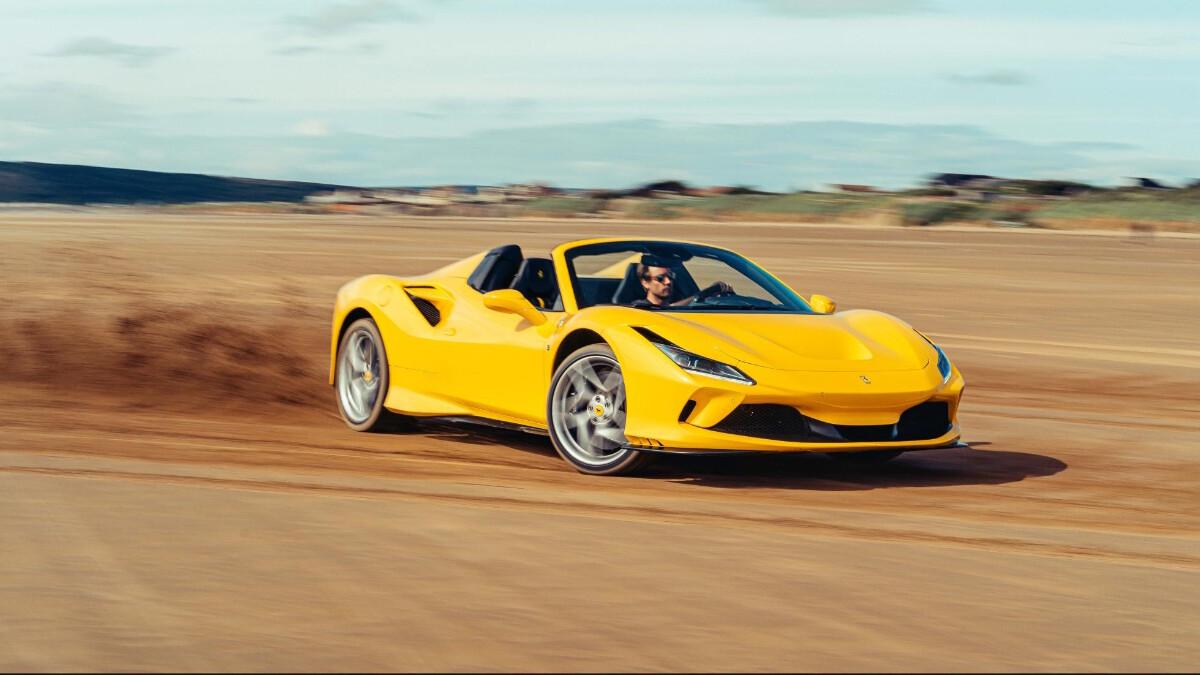 The Ferrari F8