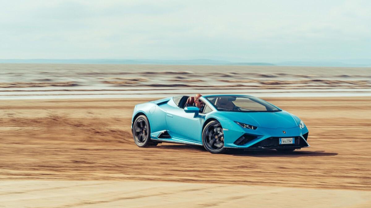 The Lamborghini Huracan