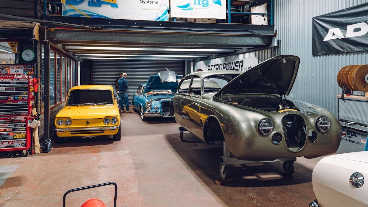 The Retropower Garage