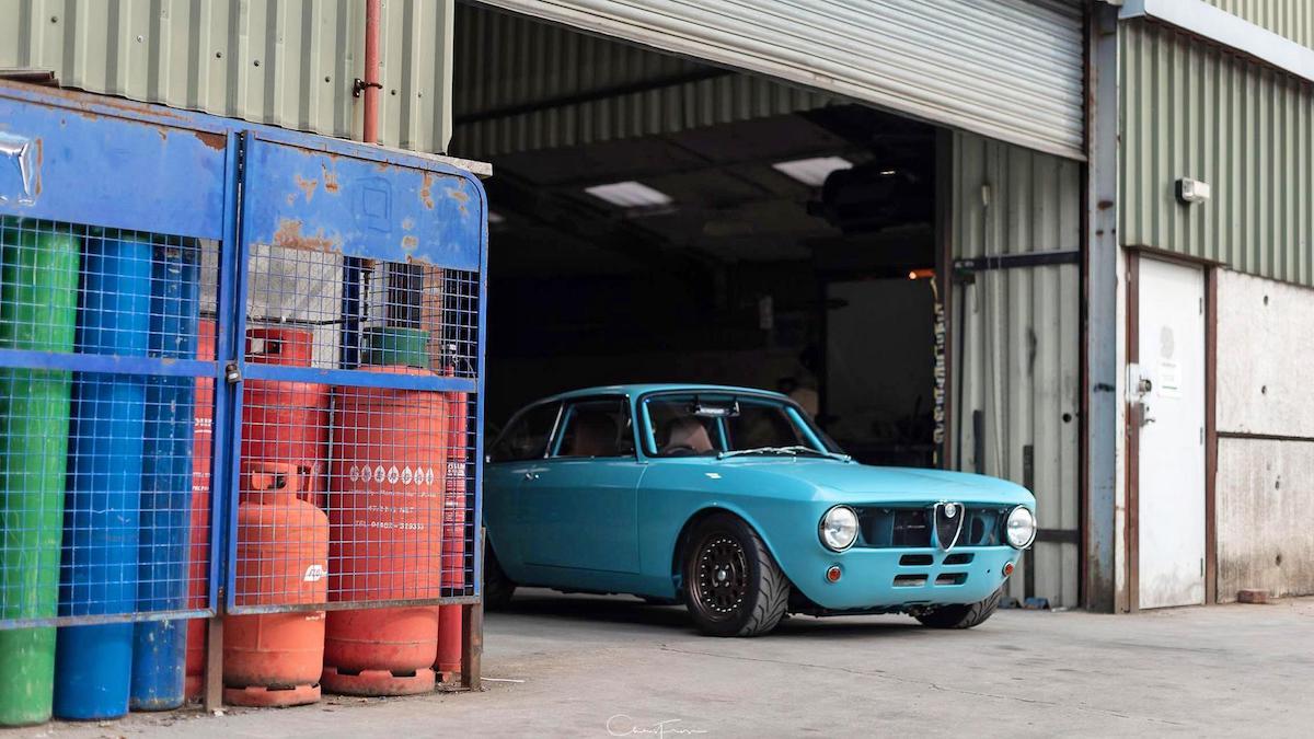 Alfa Romeo GT Junior by Retropower