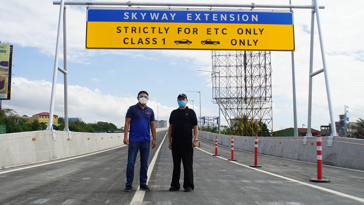 Skyway's Northbound Extension Now Open