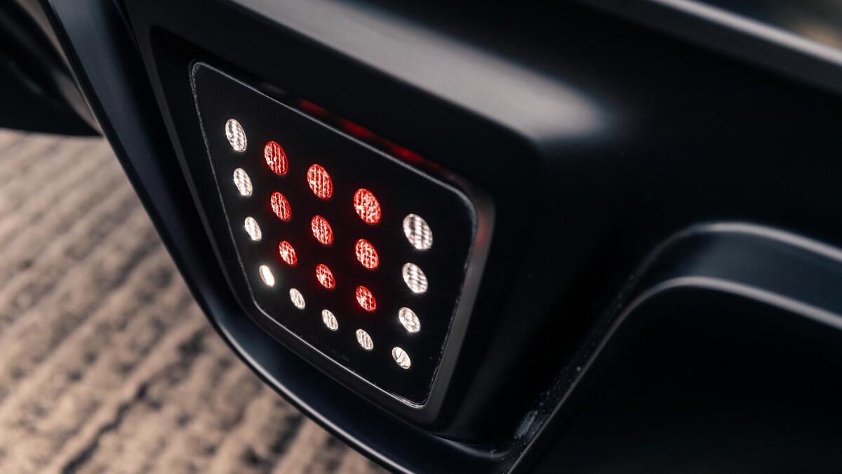 The Toyota Supra External Light