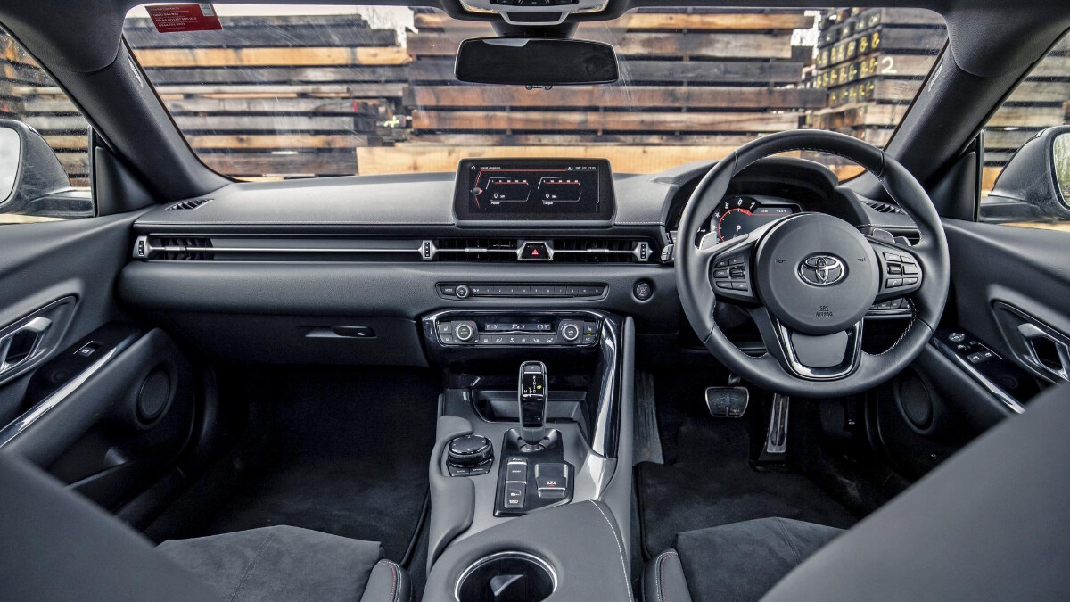 The Toyota Supra Dashboard