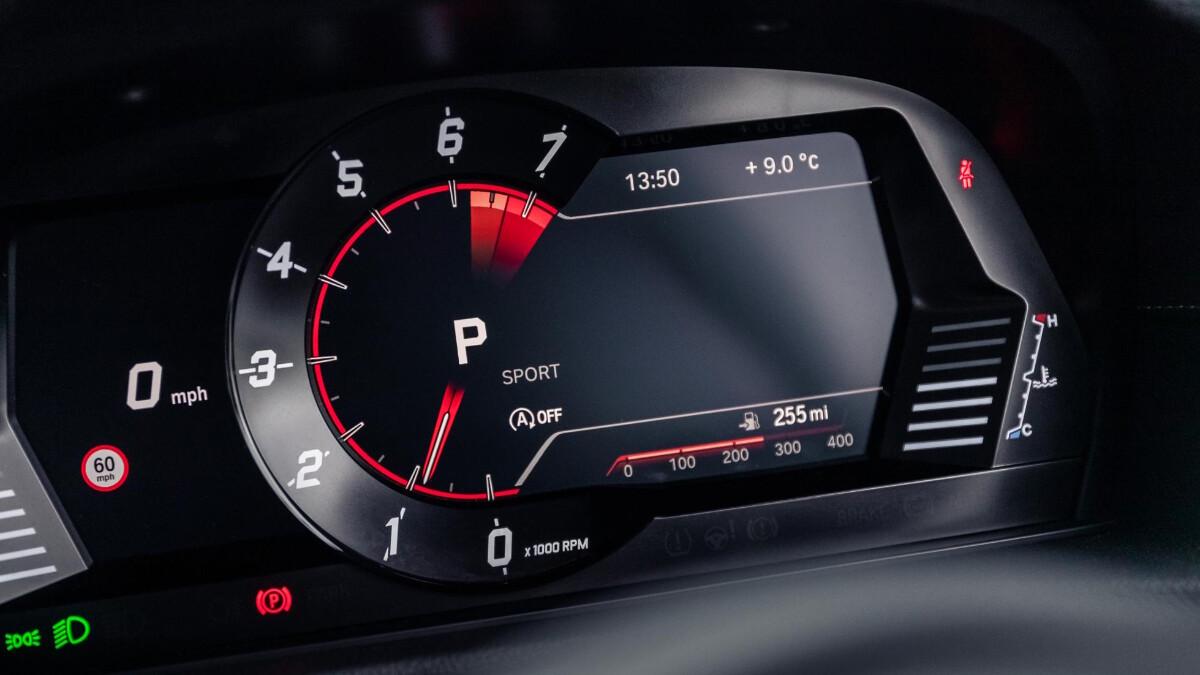 The Toyota Supra Odometer