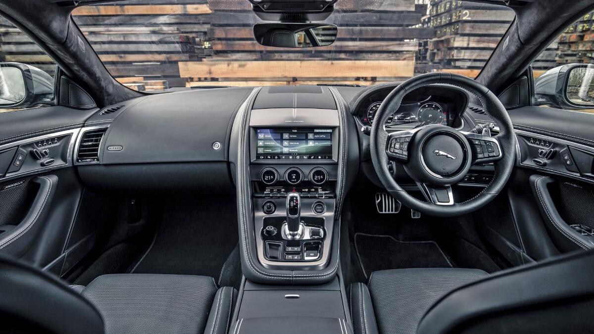 The Jaguar F-Type Dashboard