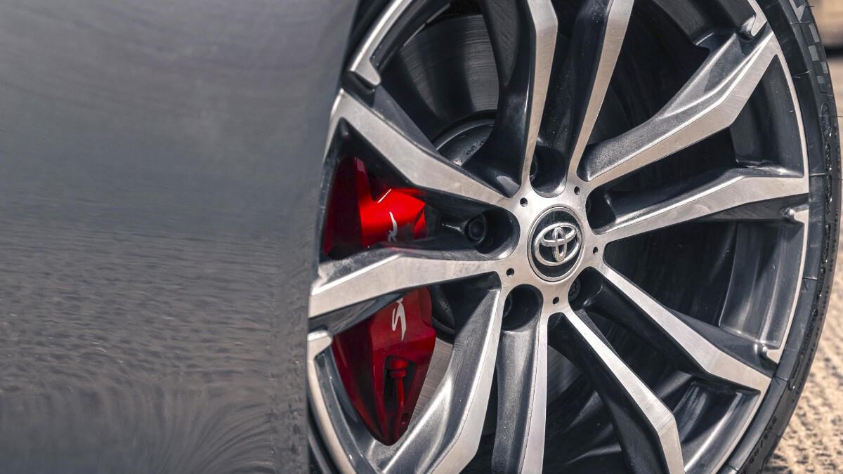 The Toyota Supra Tire